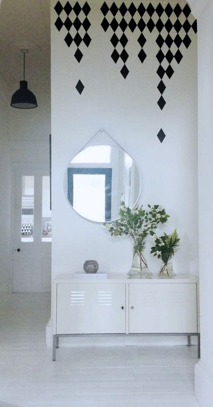 Via Romana | Ikea Ps | Muuto Lamp | Ferm Living Decals | Hay Mirror