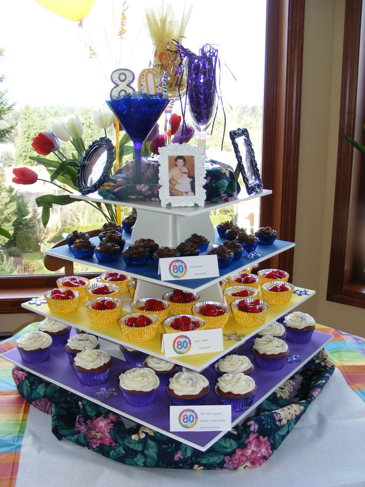 Gail's 80th Birthday Party Party Ideas Pinterest