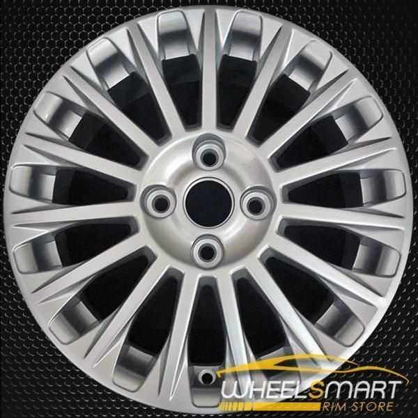 16 Ford Fiesta Oem Wheel 2014 2016 Silver Alloy Stock Rim 3967 Oem Wheels Ford Fiesta Ford