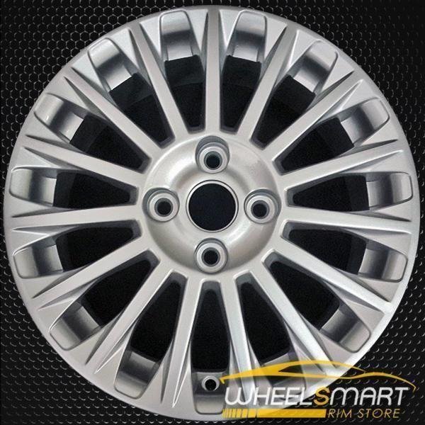 16 Ford Fiesta Oem Wheel 2014 2016 Silver Alloy Stock Rim 3967 Oem Wheels Ford Fiesta Ford