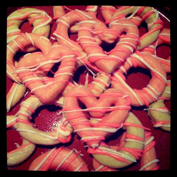 Homemade party rings and hearts - @artminx- #webstagram