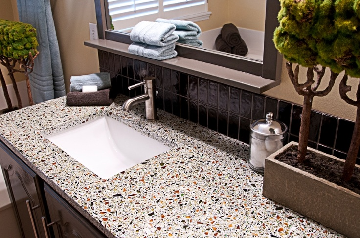 Recycled Glass Countertops, St Louis