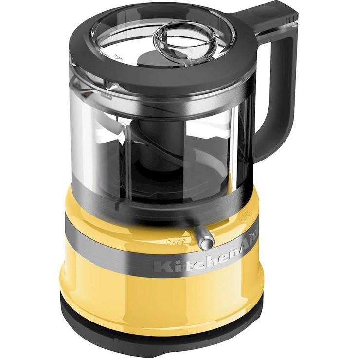Kitchenaid 35cup mini food processor majestic yellow