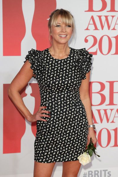 Sara Cox Photos - * EDITORIAL USE ONLY IN RELATION TO THE BRIT AWARDS 2018*   Sara Cox attends The BRIT Awards 2018 held at The O2 Arena on February 21, 2018 in London, England. - The BRIT Awards 2018 - Red Carpet Arrivals