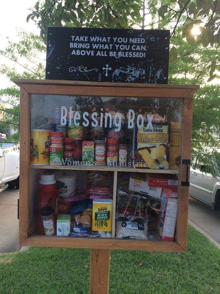 Neighborhood food bank