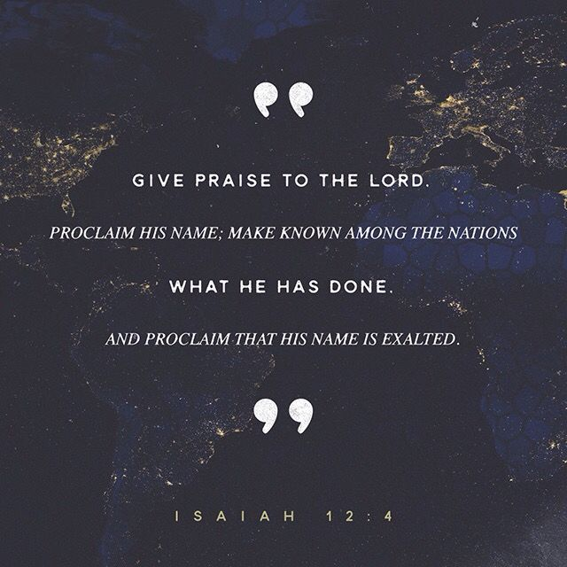 Isaiah 12:4