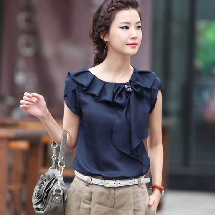фото блузок из шелка фото