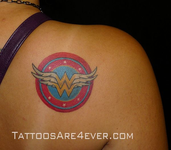 178 best images about tattoos on pinterest for Wonder woman temporary tattoo