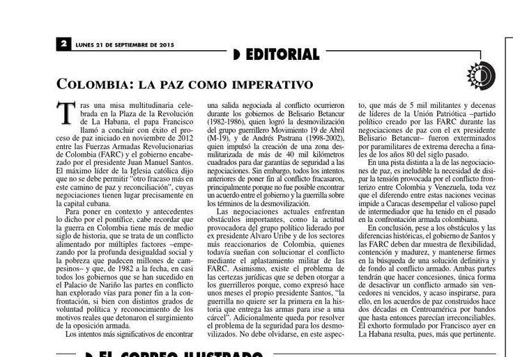 #ClippedOnIssuu from La Jornada, 09/21/2015