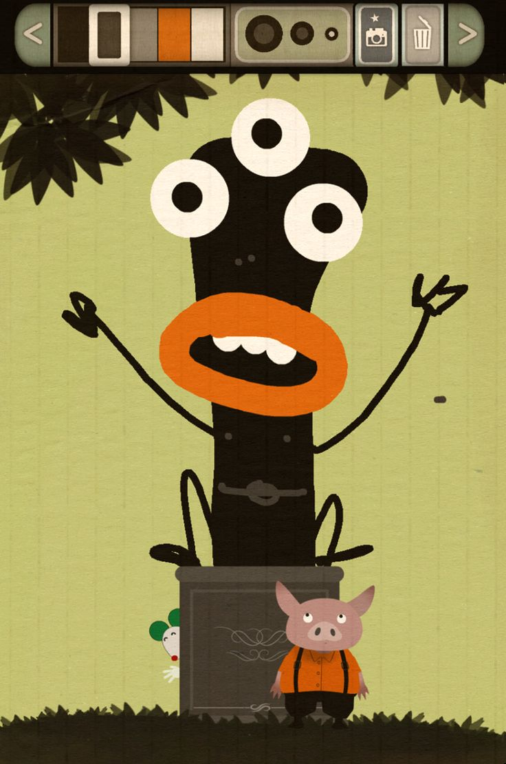 """""""La statue"""" (01) Image conçue grâce à l'application """"Dessine-moi un monstre"""", disponible gratuitement sur le Google Play : https://play.google.com/store/apps/details?id=air.dessinemoiunmonstre15032014"""