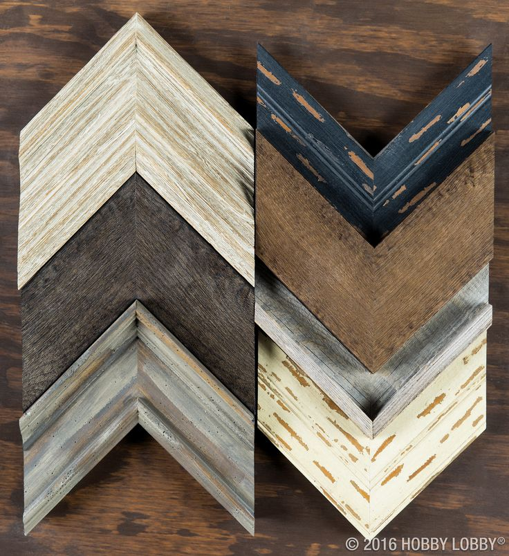 from hobby lobby looking for a weathered and rustic frame moulding look no further let these beauties