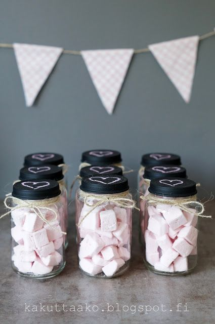Marshmallows for baby shower