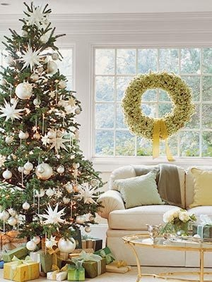 merry and BRIGHT!White Christmas Trees, Decor Ideas, Trees Decor, Christmas Decor, Christmas Ideas, Holiday Decor, Ornaments, Wreaths, Whitechristmas