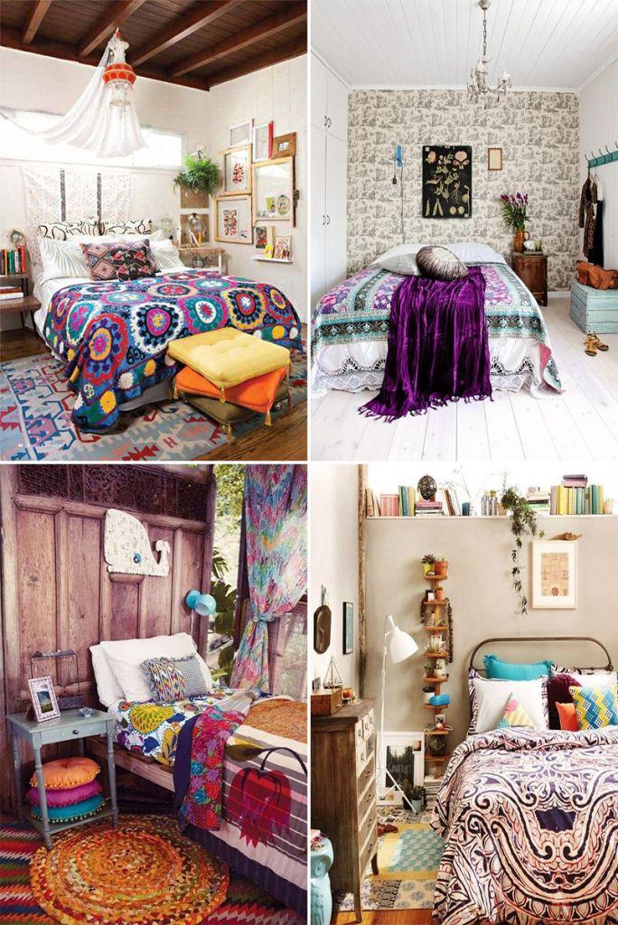 Decoração Boho Chic é econômica, criativa e rica em cores... linda!