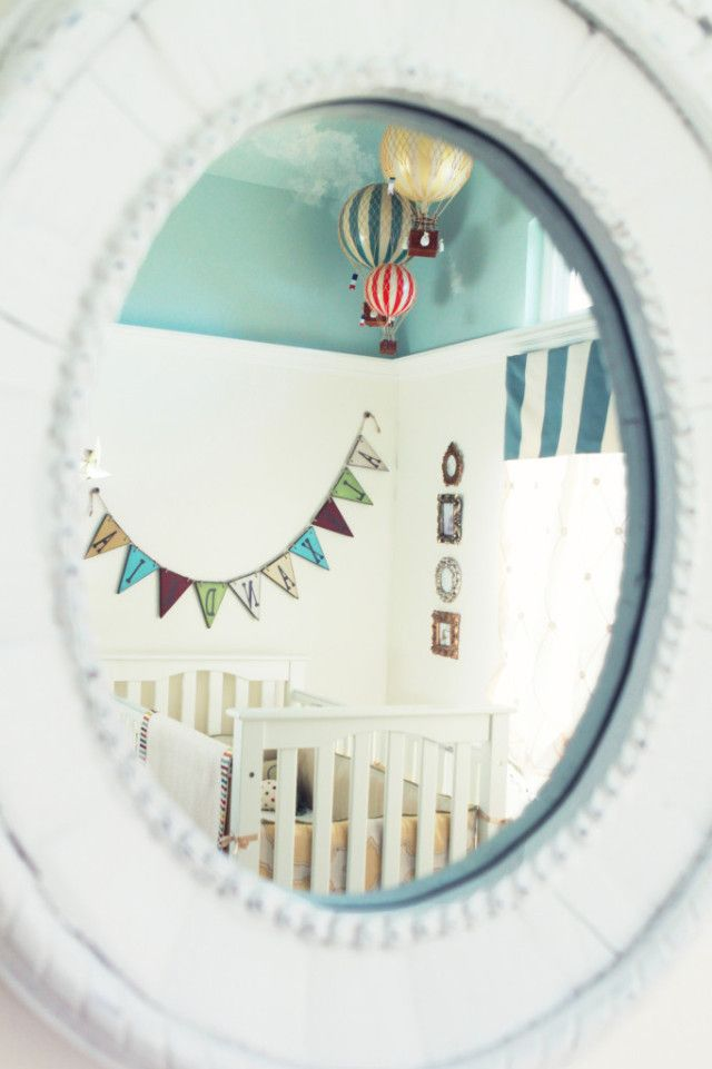 Vintage Carnival Nursery - Project Nursery: Projects, Hot Air Balloon, Nurseries, Carnivals, Nursery Ideas, Carnival Nursery, Air Balloons, Project Nursery, Vintage Carnival