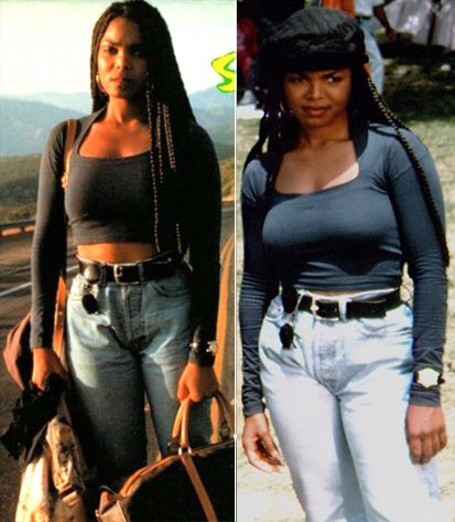#Janet #poetic #justice #beauty #icon #edgy