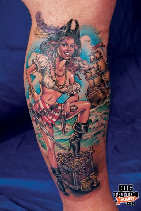 Beautiful Pin-up Girl Tattoos