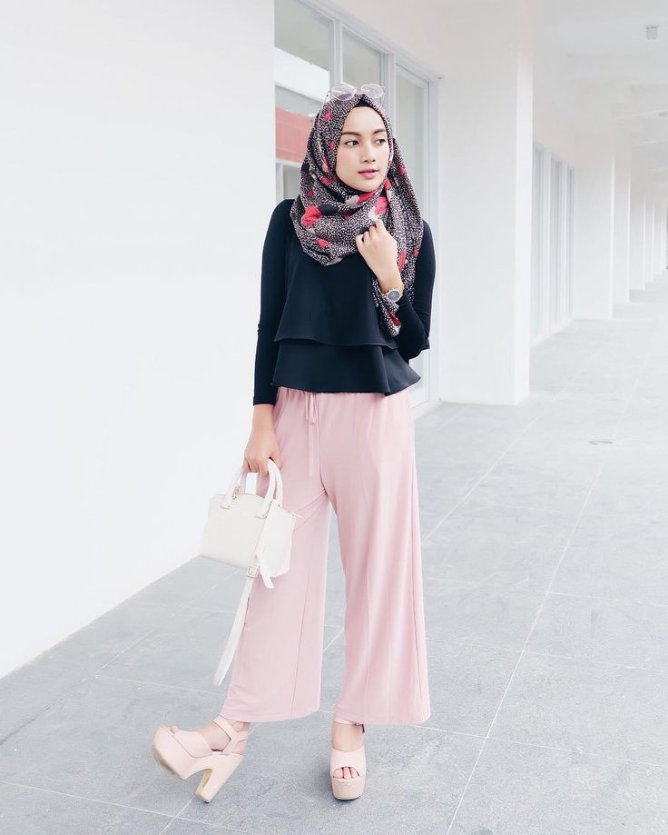 Style Hijab Casual Simple