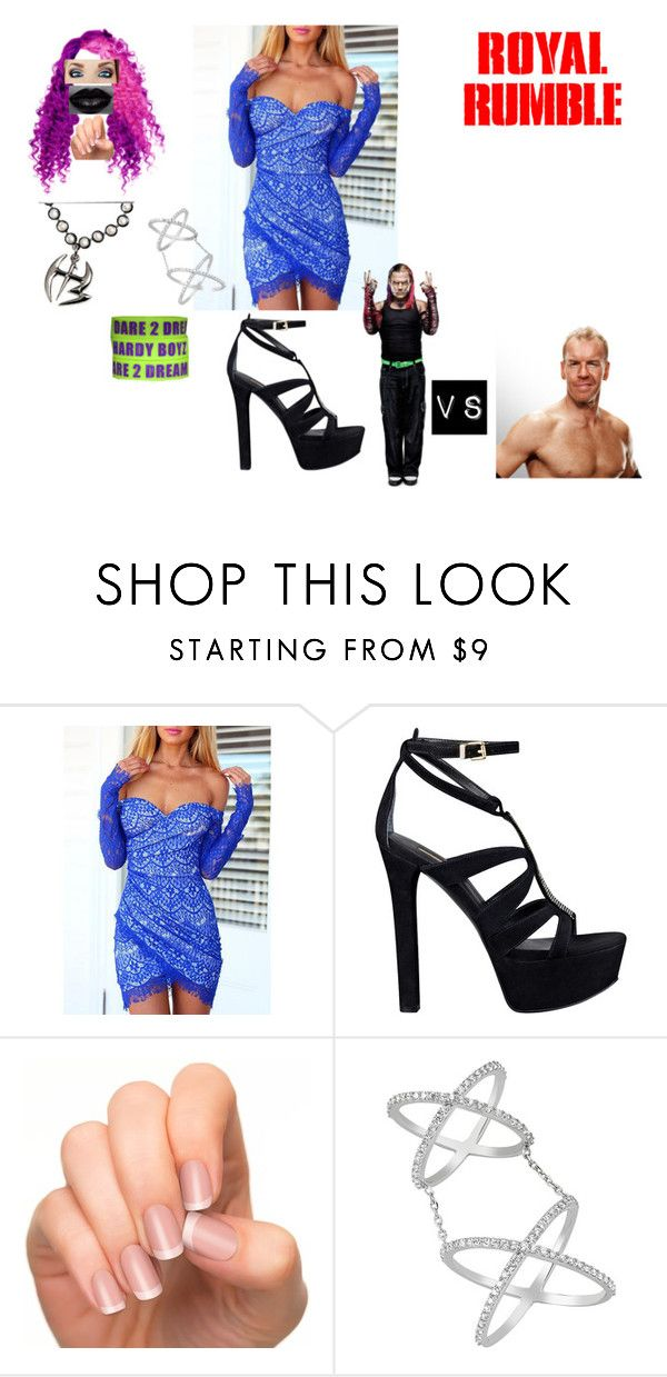 """Royal Rumble (1999)"" by anaeve ❤ liked on Polyvore featuring moda, GUESS, Prada y Amorium"