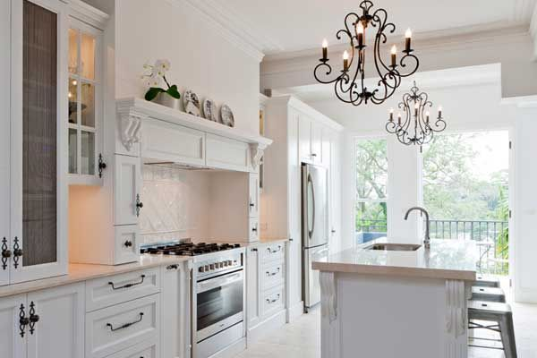 Extraordinary Ways To Decorate French Kitchen Designs