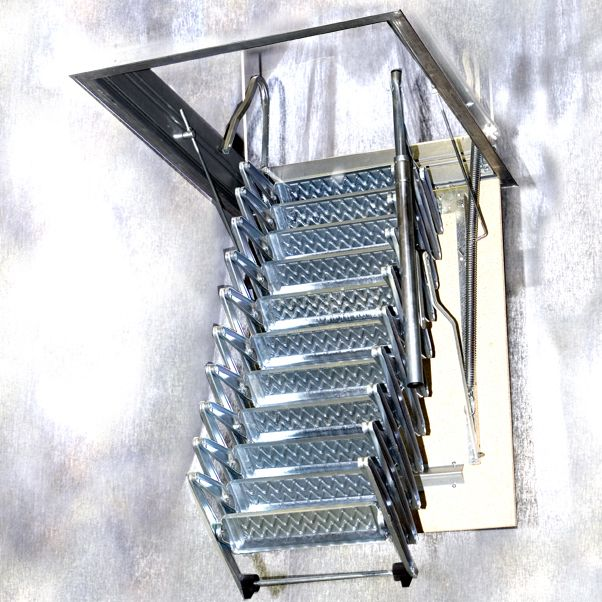 Best Folding Staircase Retractable Stairs Stairs Design Staircase Design 400 x 300