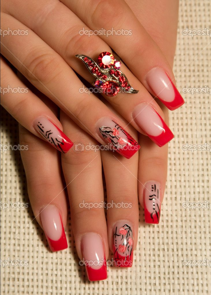 Over the course of many nail trends