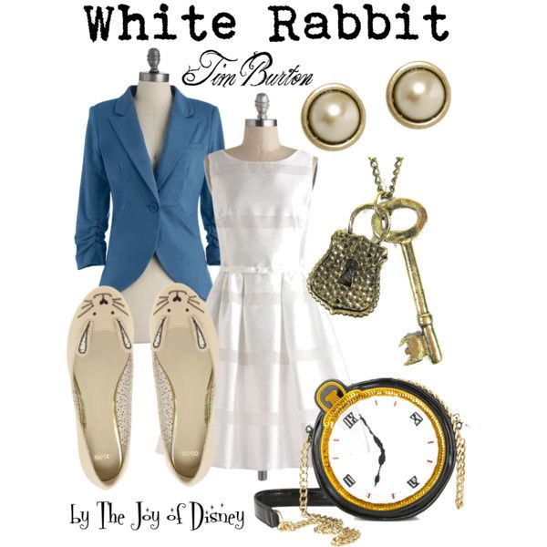 """White Rabbit (Alice in Wonderland)"" by thejoyofdisney on Polyvore"