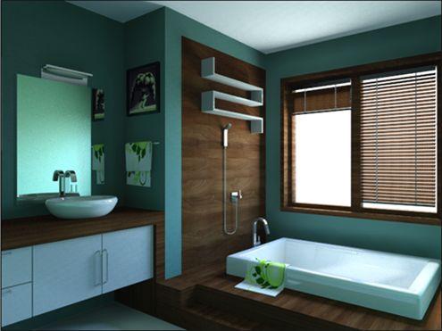 home decor, cool looking bathroom