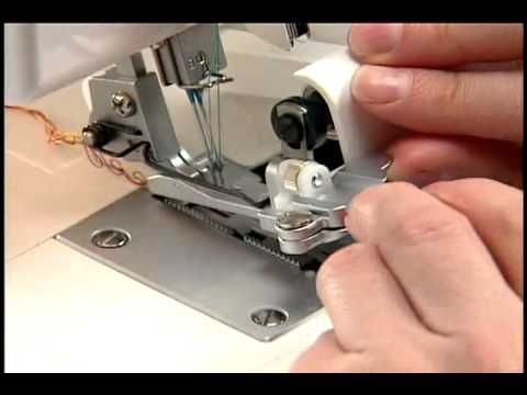 Did you know you can do some decorative techniques on your serger? It's not just for utility stitching. In this serger tip clip learn how to gather fabric by...