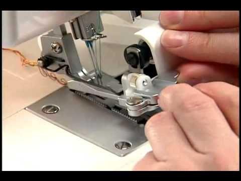 Kopie Wie man eine Flatlock- oder auch Flachnaht mit der Overlock näht kurz und knapp erklärt! - YouTube