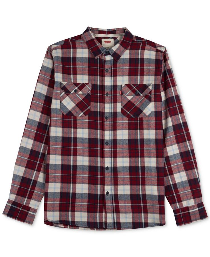 Levi's Flacka Plaid Flannel Long-Sleeve Shirt