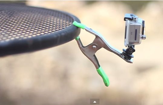 #DIY #GoPro clamp. These are great quick mounts that are easy to build and can be used practically anywhere.   Learn more here: http://www.heyisiton.com/diy-gopro/diy-gopro-mounts/diy-gopro-clamp-moun