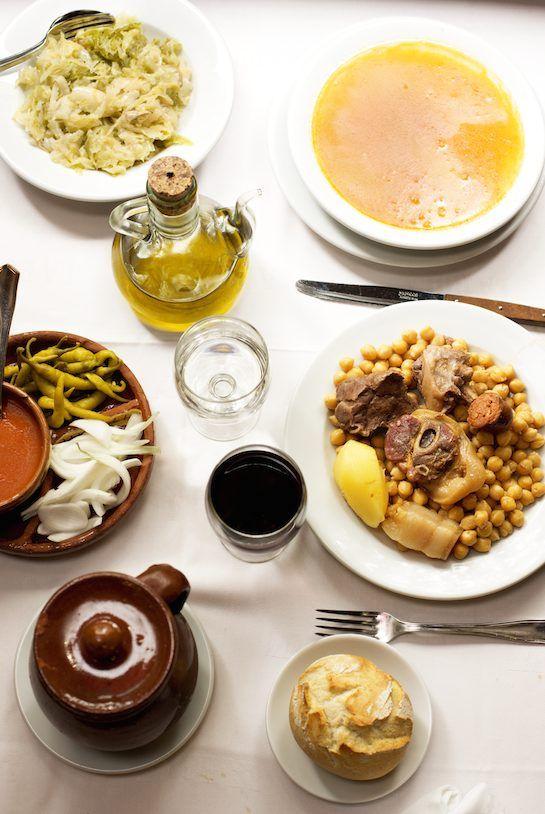 AFAR Magazine Post: Spain's Progressive Dinner: Cocido Madrileño by Leah Messinger