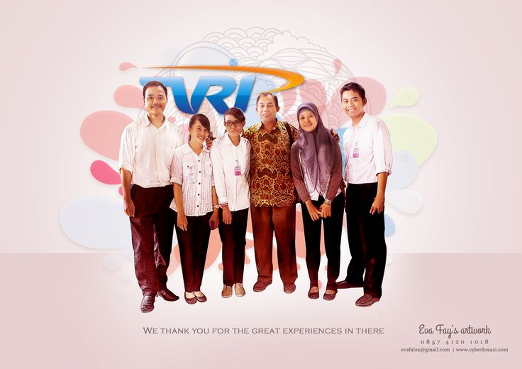 Picture Photo Frame for TVRI Indonesia