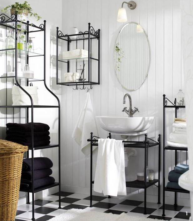 Ikea Bathroom Shelving Ideas: Ikea Ronnskar Sink Shelf