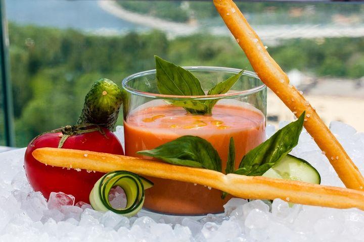 Гаспачо: рецепт от шеф-повара - пошаговый рецепт с фото - как приготовить - ингредиенты, состав, время приготовления - Леди Mail.Ru