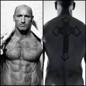 "~Gareth Thomas, famous for being a great Rugby player,  is kind of amazing for also being the first professional sports figure to admit he is gay. Most people to ""come out"" do so after they leave their sport, because it can be quite dangerous for a person to do so, both to their career and also to themselves. Gareth is amazing for being brave enough to admit who he is, no matter the repercussions. His body's kinda amazing too!"