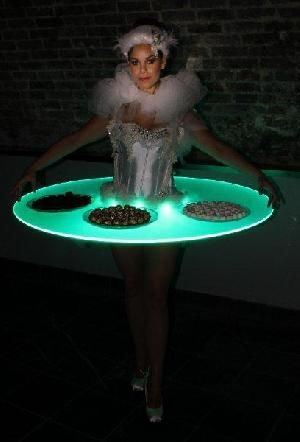 Swan Lake Ballerinas Strolling Tables – Hire & Book For Parties & Events – Classique