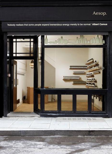 aesop shop redchurch street shop displays pinterest. Black Bedroom Furniture Sets. Home Design Ideas