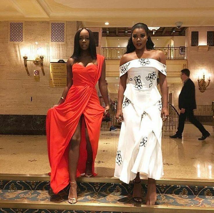 Aja Naomi King and Gabrielle Union