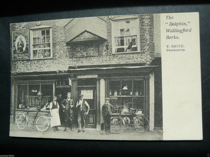 The Dolphin Wallingford Berkshire Postcard Proprietor T Smith Shop Oxfordshire | eBay