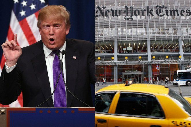 BREAKING: Trump Sends Cease and Desist Letter to NYT Over Shoddy Hit Piece – DEMANDS RETRACTION!  Jim Hoft Oct 13th, 2016