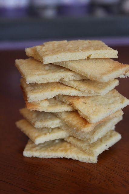 Butter Crackers (low carb, keto) | Food I Make My Soldier