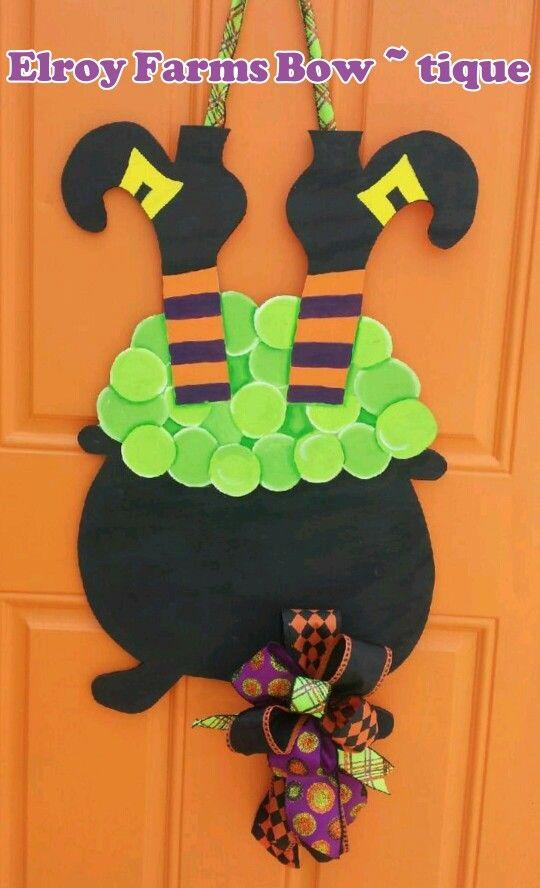 25+ unique Halloween door hangers ideas on Pinterest