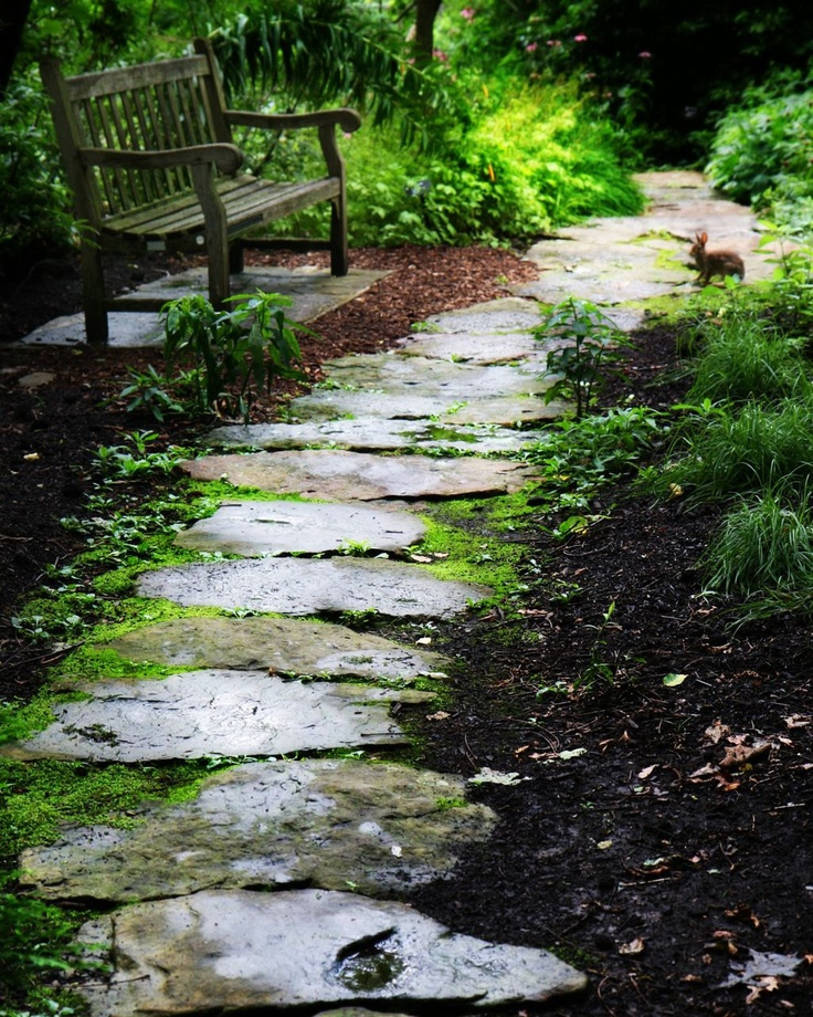Stone Paths In Gardens: 10 Best Outdoor Stairs Diy Images On Pinterest