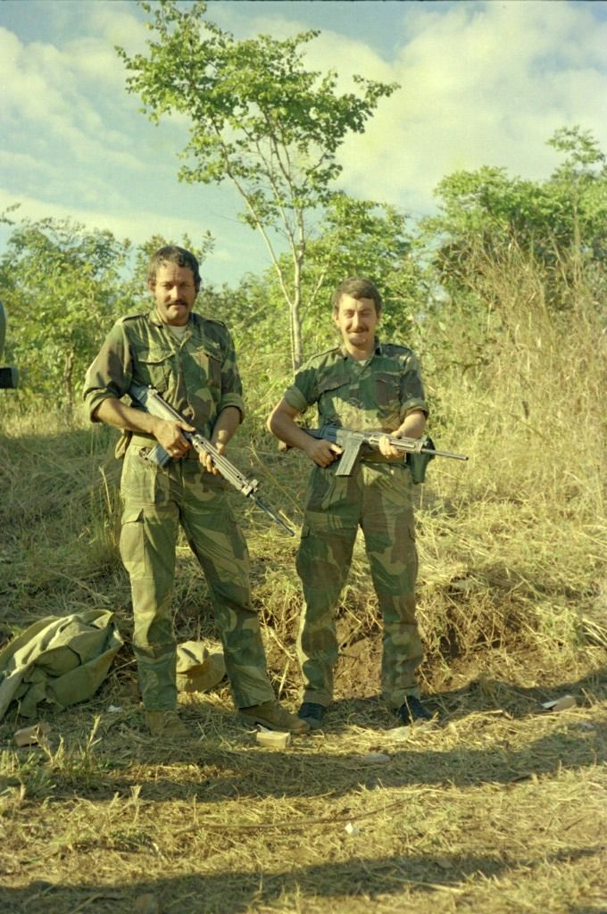 Rhodesian Bush War Operations.