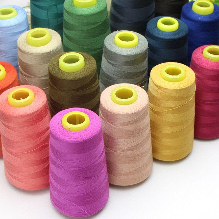 40 s/2 hilo de Coser Hecho A Mano para un rollo = 3000 Yardas Usd Común: el hilo de coser, coser la tela ordinaria