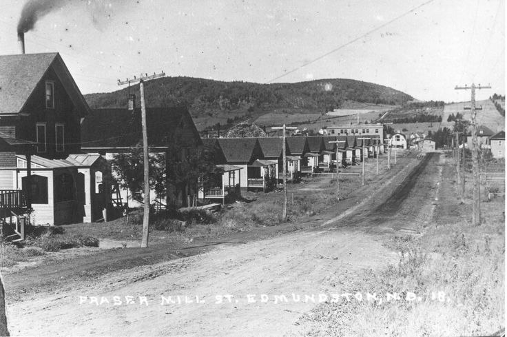 Rue Rice (Moulin Fraser), vers 1918