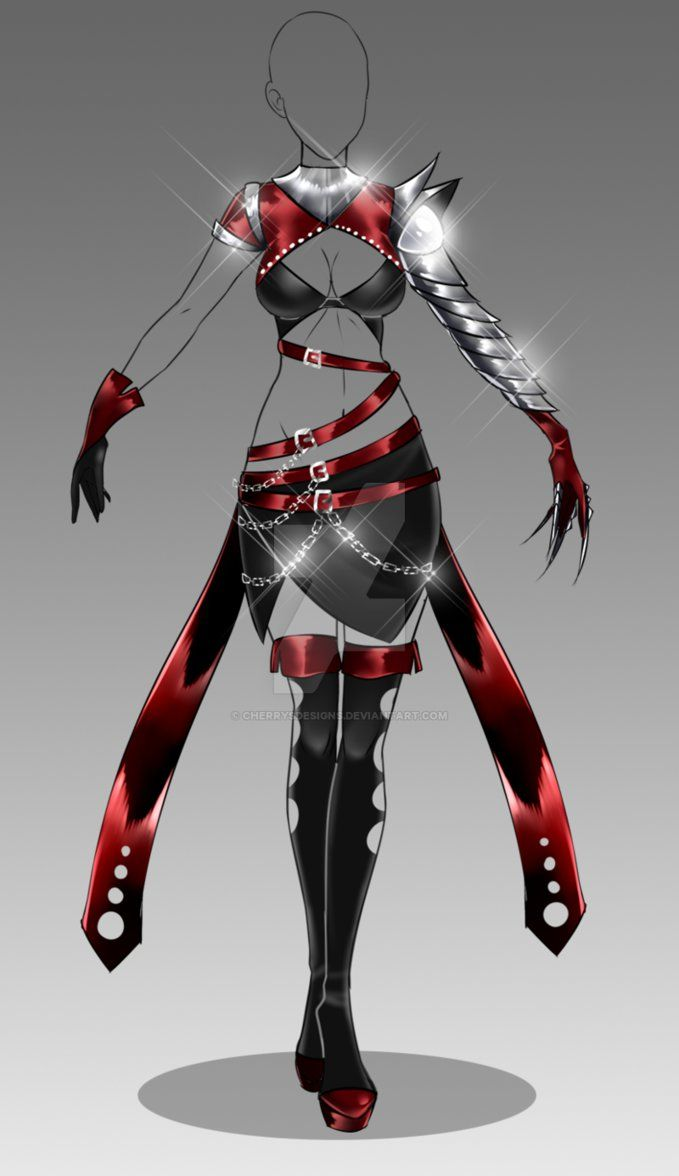 (closed) Auction Adopt - Outfit 267 by CherrysDesigns.deviantart.com on @DeviantArt