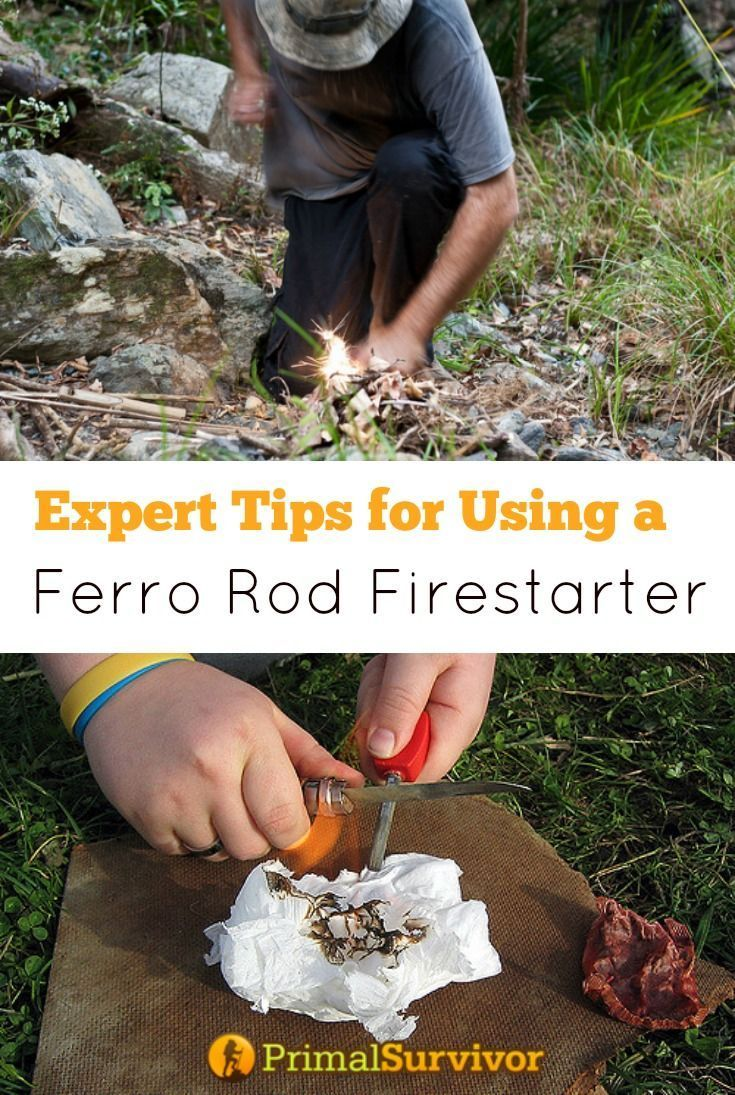 Experts Tips for Using a Ferro Rod Fire Starter. Fire is essential to survival. You need it for warmth, to cook food, and to boil water for purification. So, it is no wonder that survivalists recommend keeping a ferrocerium rod – aka ferro rod – in your survival bag. What they don't tell you is that starting a fire with a ferro rod isn't as easy as it seems. Here are expert tips to make sure you actually can use your ferro rod in an emergency situation.